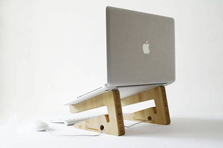 new bamboo puzzle laptopstand. €62.50, via Etsy.  So many possible uses!Laptops Stands, Gadgets, Shape Laptopstand, Bamboo Laptopstand, Apples, Puzzles Laptopstand, Bamboo Puzzles, Products, Design