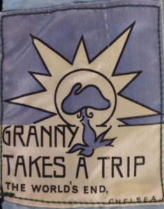 Original Granny Takes A Trip label