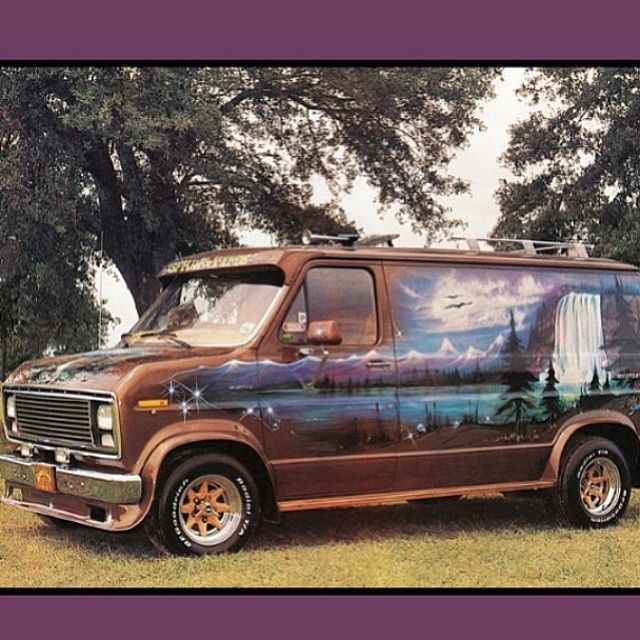 1502 best images about all vans on pinterest chevy On 70s van mural