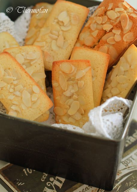 Financiers de almendra Thermomix