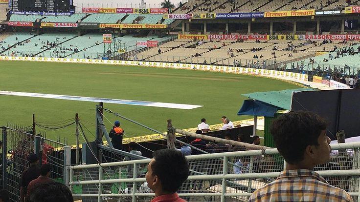 LIVE Score Cricket India vs Sri Lanka 1st Test Day 1 at Kolkata: Bad light stops play once again