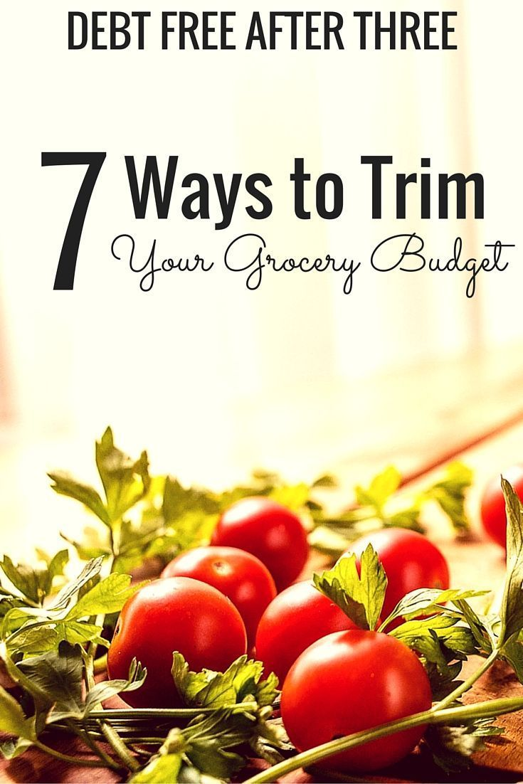 Looking to save money on groceries? Here are 7 ways to trim your grocery budget without sacrificing too much.