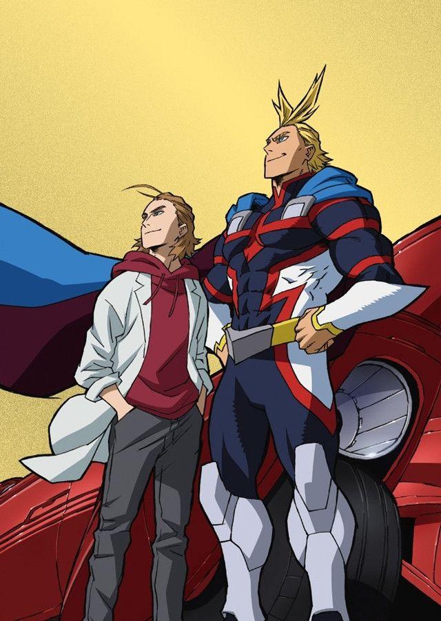 My Hero Academia Two Heroes Dvd Blu Ray Plus Ultra Edition Jacket Illustrations Revealed My Hero Hero Movie Boku No Hero Academia