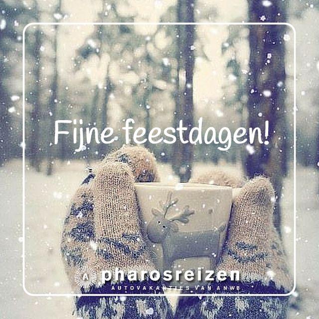 Wij wensen jullie fijne feestdagen!