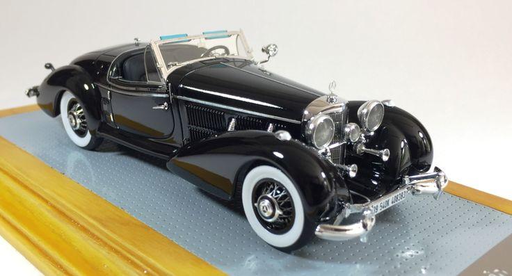il103 1/43 Mercedes-Benz 540K 1939 Spezial Roadster Sindelfingen sn408383