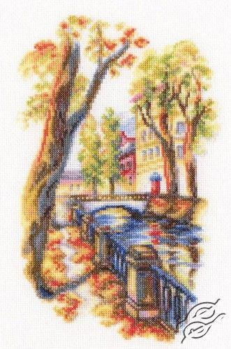 Bridges of St. Petersburg - Cross Stitch Kits by RTO - M541