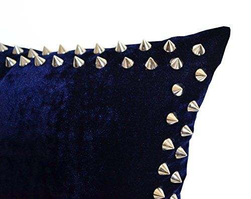 Handcrafted Decorative Throw Pillow Cover in Navy Blue Ve... http://www.amazon.com/dp/B01704CK7O/ref=cm_sw_r_pi_dp_WWAnxb146Q6JS