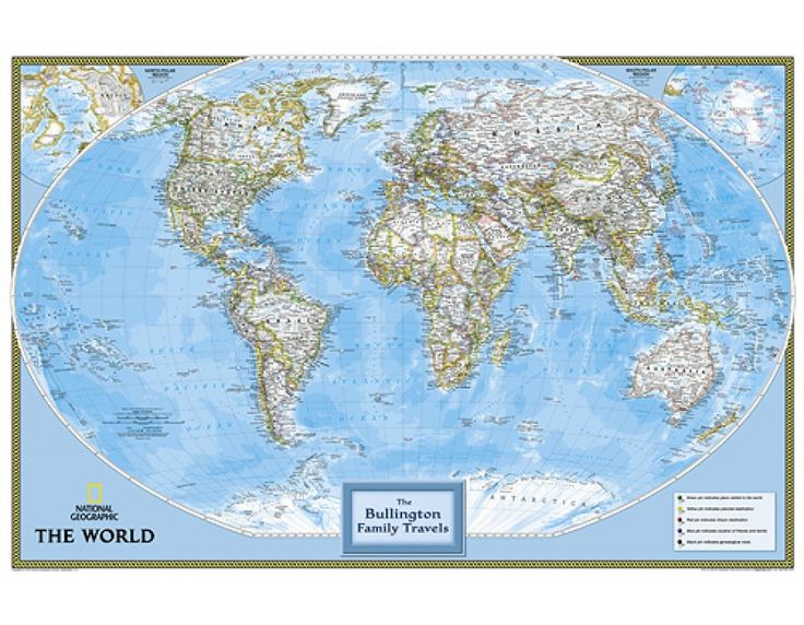 Best World Map Images On Pinterest Wall Maps Cork Boards - World map for sale