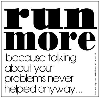 Run More.... Greetings card for Runners from www.worrylessdesign.co.uk