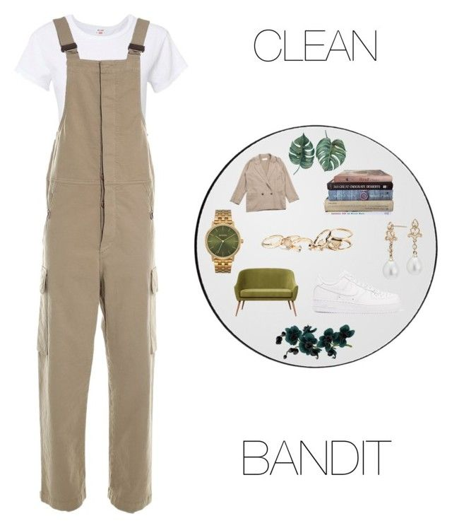 """CLEAN BANDIT"" by annelenelala on Polyvore featuring RE/DONE, See by Chloé, Nixon, Blue Nile, Chloé, NIKE and GUESS"