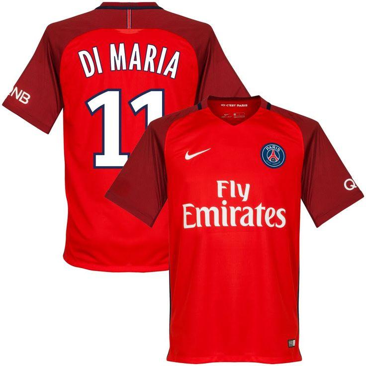 Paris Saint Germain Shirt Uit 2016-2017  Di Maria 11 (Fan Style) - XXL