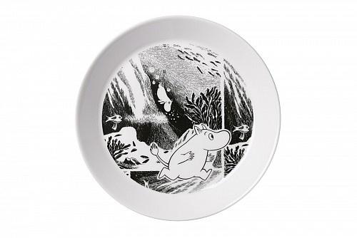Moomin Adventure plate by Arabia