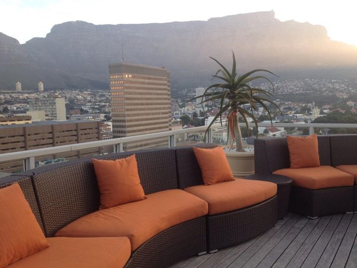 """""""The literal high of this past week. The beautiful Tata Presidential Suite's exquisite rooftop lounge at @tajcapetown""""  -  Adrian Adshade @Afronuck"""