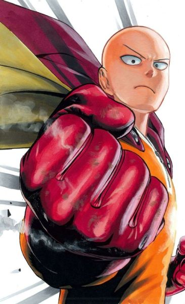 "one punch man - saitama - yuusuke murata illustrations  USE CODE ""PIN5"" TO RECEIVE 5% OFF Shop now at www.animecart.com"