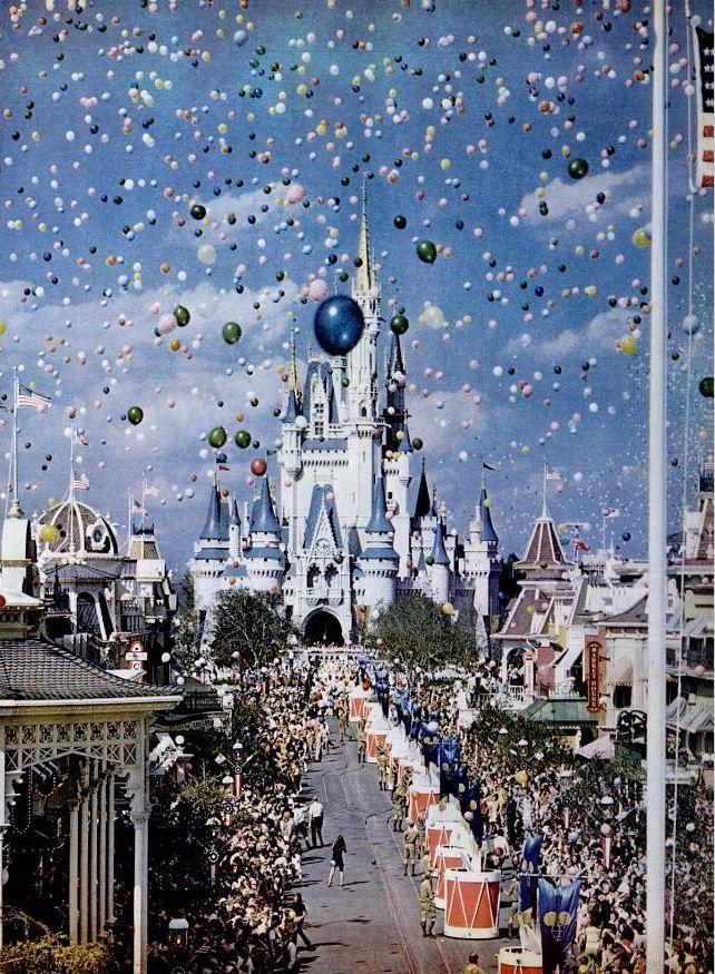 Magic Kingdom in '71