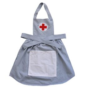 tablier infirmiere pour enfant - tutoriel sur petit citron