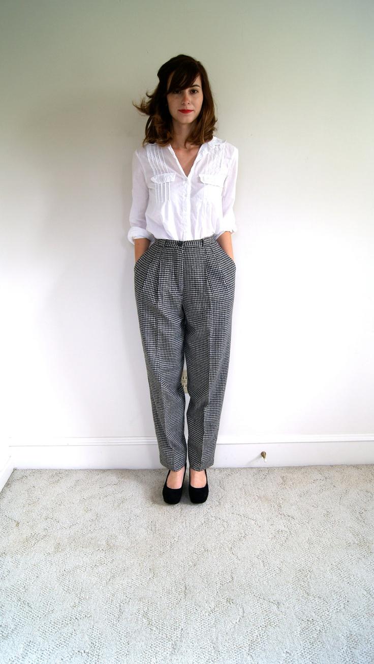 vintage trousers | Minimalistic Wardrobe