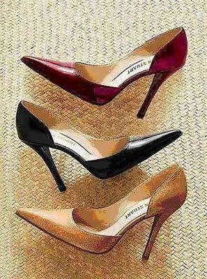 zapatos que estilizan muslos gruesos