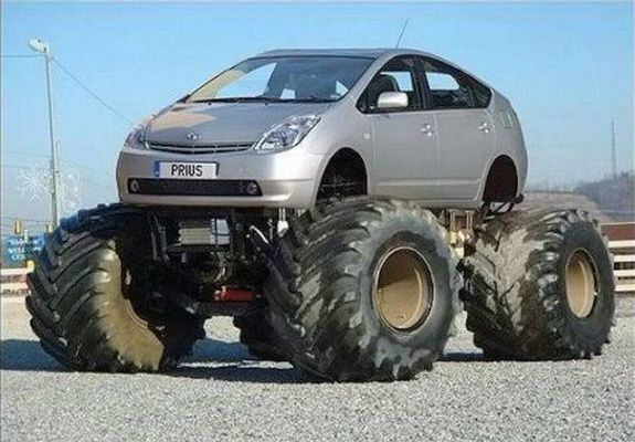 bad ass prius | How To Make An Environmentally Friendly ...