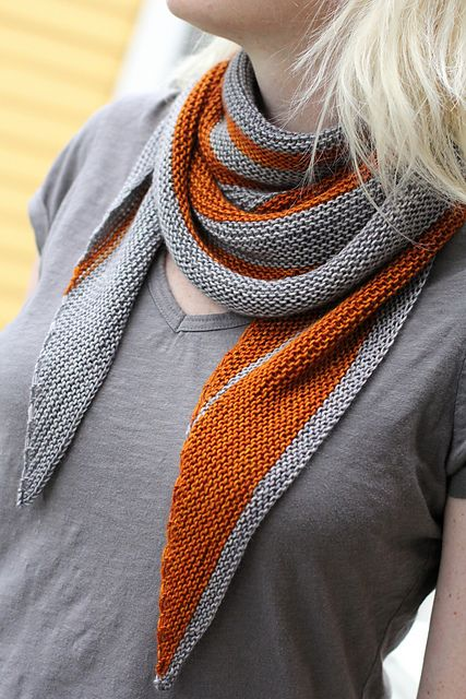 Ravelry: spork's Pendulum, Amy Miller. more grey striped, orange is one of my favorite colors.