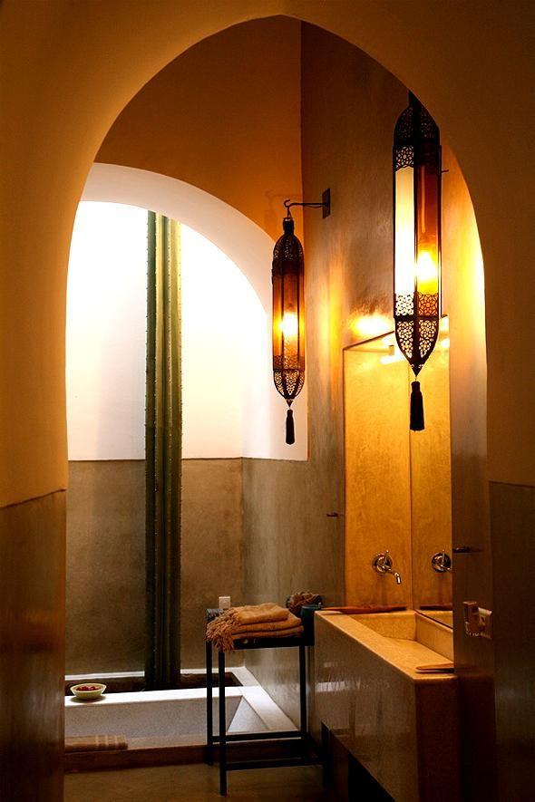 Ванная комната в марокканском стиле: примадонна или фаворитка? | Дизайн интерьера