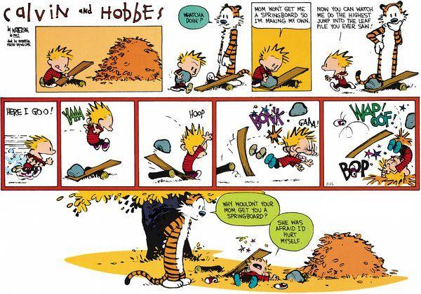Calvin and Hobbes Comic Strip, October 14, 2012 on GoComics.com