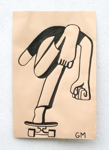 Paper Paintings by Geoff Mcfetridge