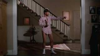If anyone wants to know the exact moment that Tom Cruise emerged from the brat pack and became a superstar, here's your answer: singing Bob Seger's Old Time Rock and Roll in Risky Business! The ladies just loved it and you can see why!