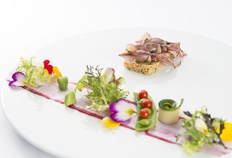 モダンクラシック・フレンチ「レストラン ロゼット」に、日本の素材にこだわった春のディナーメニューが登場。