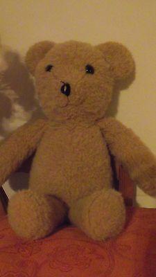 Bears Rare Antique Vtg Teddy Bear Button Eyes Stuffed Animal Plush Jointed Handmade Tb
