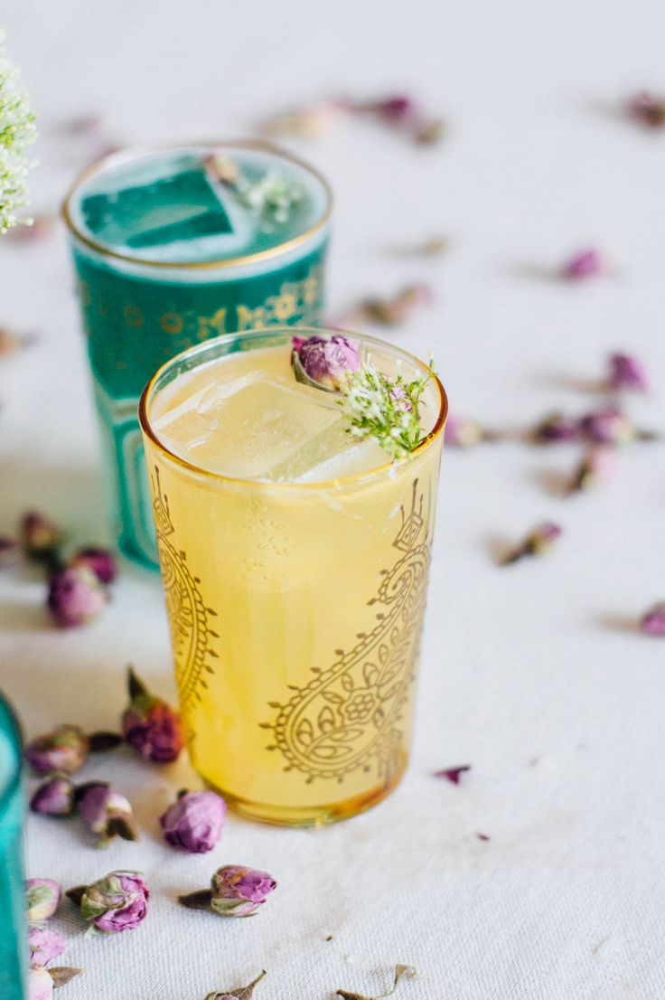 Sweet Honey Rose Cocktail recipe just in time for spring!   bygabriella.co