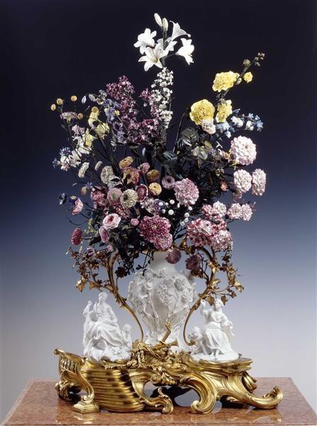 Vincennes French porcelain in Dresden Germany 1749