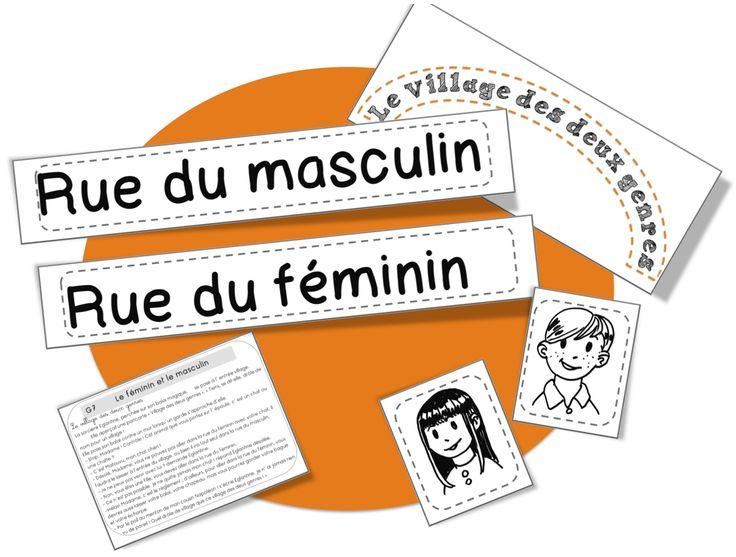 CE1: Rseeg: masculin et féminin - Bout de gomme