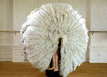 Rebecca Horn, The Feathered Prison Fan, 1978.