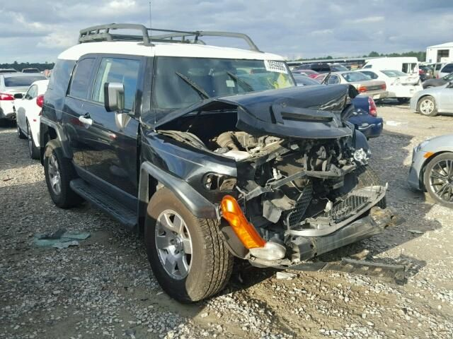 2007 TOYOTA FJ CRUISER TX SALVAGE VEHICLE TITLE For Sale ...