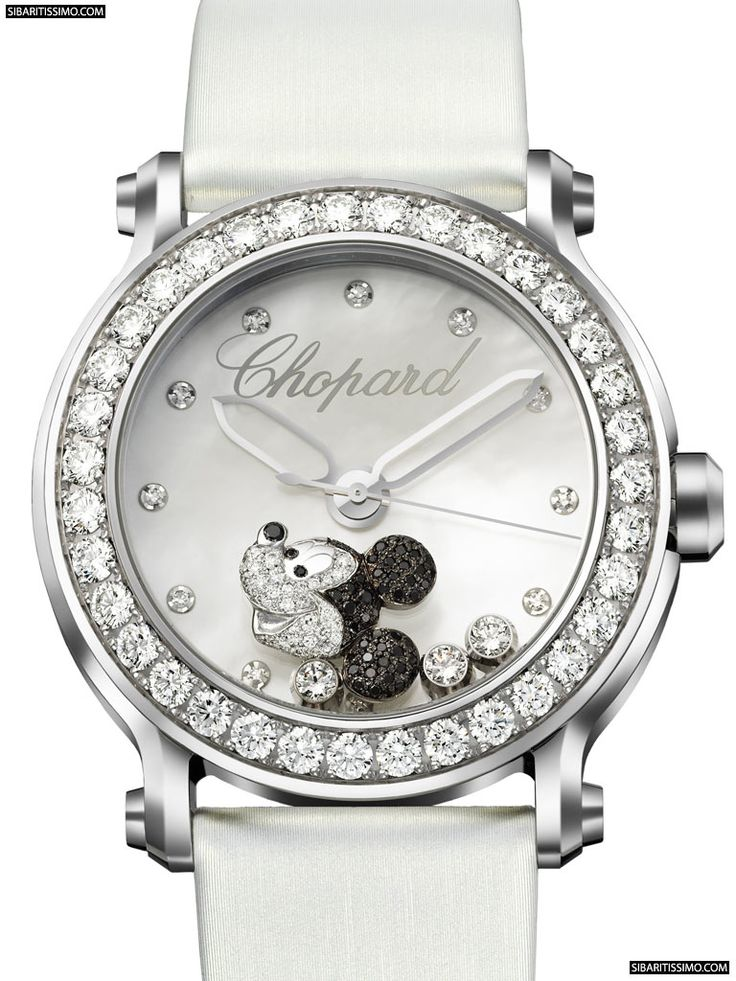 Mickey- Chopard Watch. I want this for Christmas
