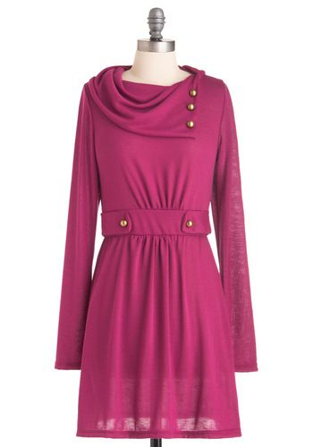 It's hard to find cute long sleeve dresses and I am from Wisco so I like this.
