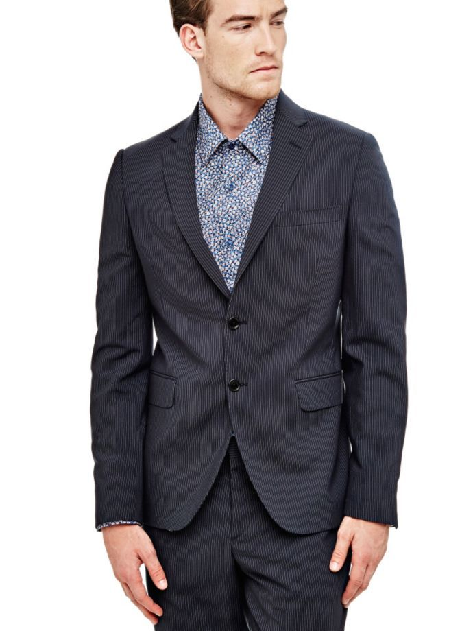 EUR199.00$  Watch now - http://virly.justgood.pw/vig/item.php?t=bxtga6652552 - MARCIANO WOOL BLEND BLAZER