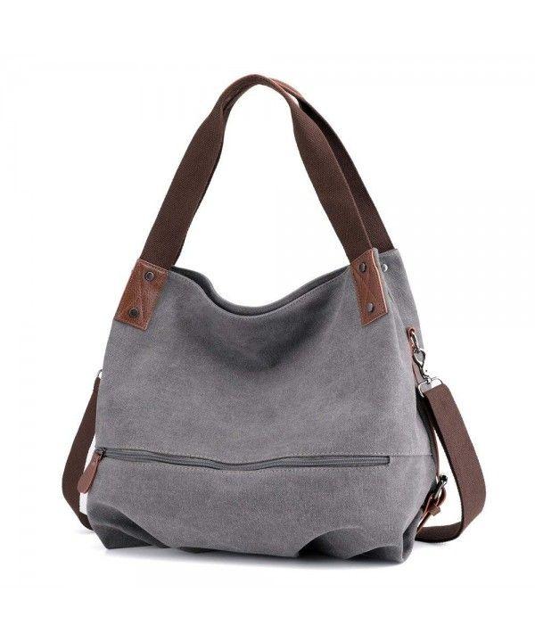 888965a50 Women's Bags, Hobo Bags, Canvas Handbag Women's Shoulder Bags Casual Large Tote  Crossbody Bag Weekend Shopping Big Bag for Women - CA18ELYTMAZ #Women ...