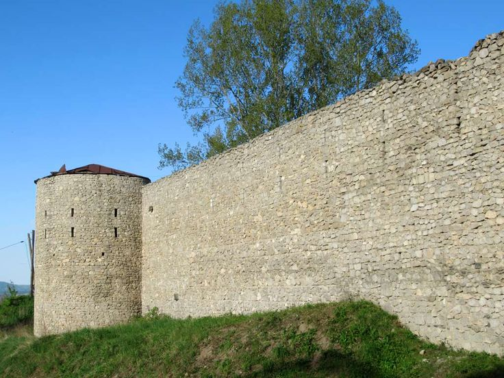 Walls dating from the 18th century defended the hilltop city of Shushi, Republic of Nagorno Karabakh, against attack from the north.
