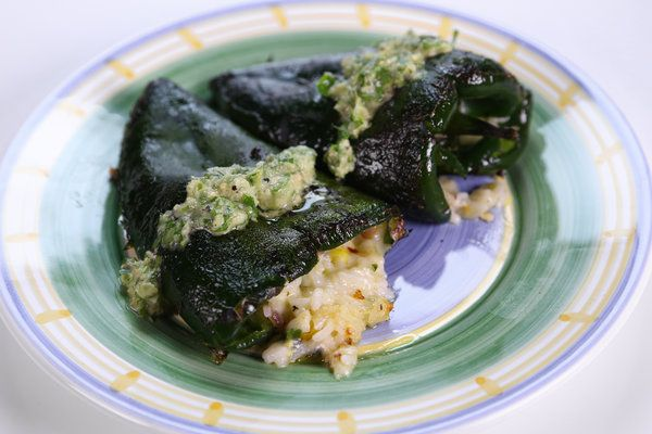 Carla Hall and Clinton Kelly's Stuffed Poblanos.....Chock-full of ...