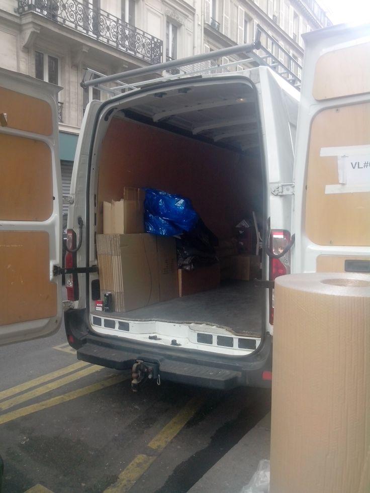 Location de camion de 15m3 avec chauffeur + gasoil et frais de péage - garde meuble pas cher ile de france