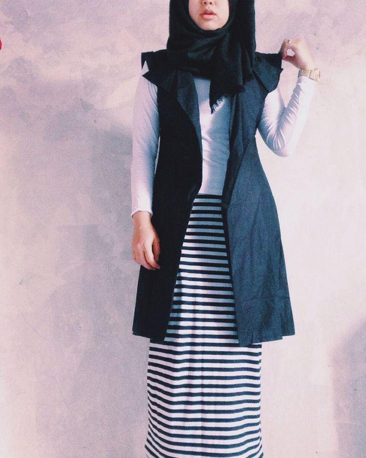 #hijab, #fashion #daily #ootdhijab