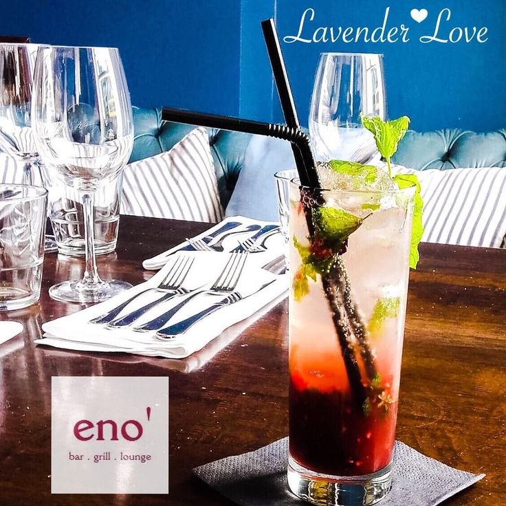 Tonight's €5 Cocktail Special • Lavender Love 💜 | Lavender Vodka, Raspberries…