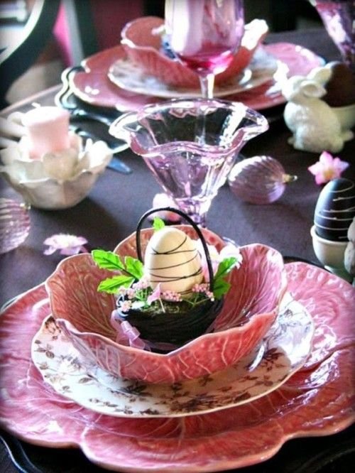 This looks like one of Marigene's tables - 100 Cool Easter Decorating Ideas | Shelterness