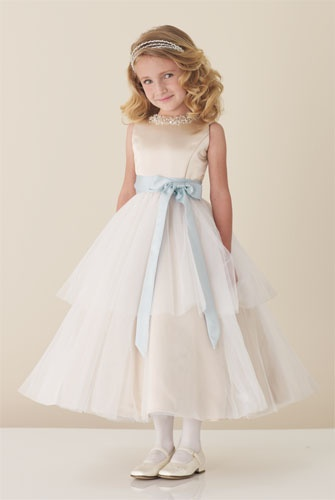 Joan Calabrese 110305 Flower Girl & Communion Dress