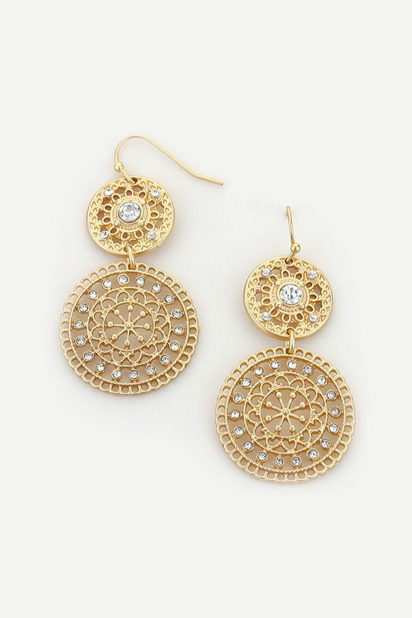 Lea Earrings on Emma Stine Limited