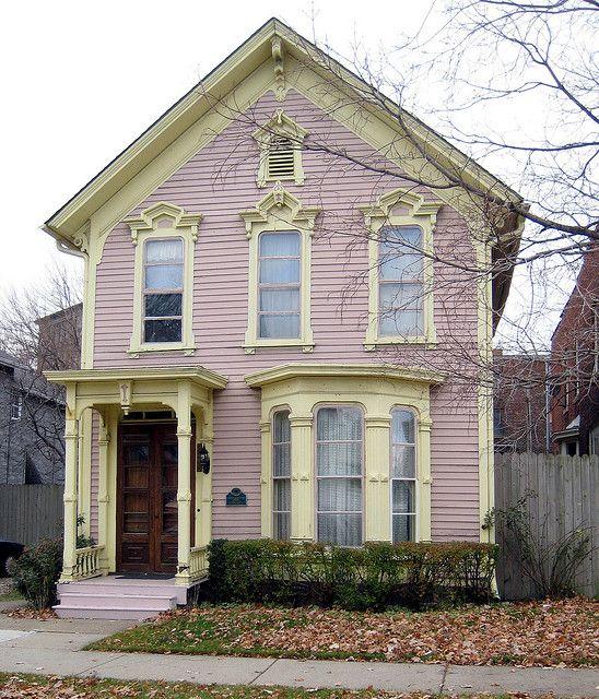 This is the Joseph H. Esterling house on Wabash Street in Detroit's Corktown neighborhood.