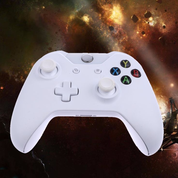 2017 White Wireless Controller For XboxOne Controller For Microsoft Xbox One Console Gamepad PC Joystick Gift To Friends/Family
