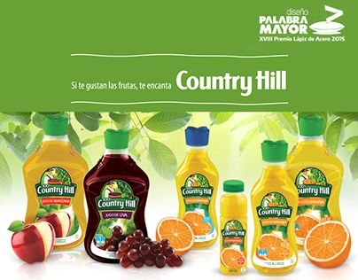 "Check out new work on my @Behance portfolio: "" JUGOS COUNTRY HILL"" http://on.be.net/1hcv7x4"